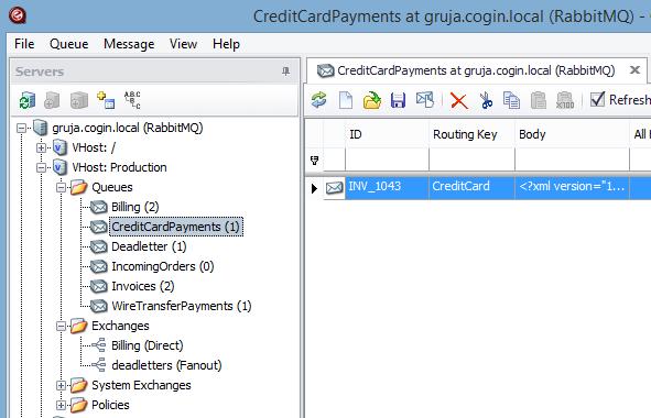 RabbitMQ Exchanges - RabbitMQ for MSMQ users, part 2